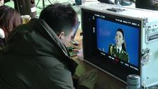 《绿野狂人》主题曲拍摄探班 歌唱家刘子琪献声