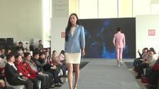 百年工艺隆庆祥在京发布定制新品时装秀