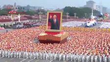 """""""伟大复兴""""方阵:近代以来中华民族最伟大的梦想"""